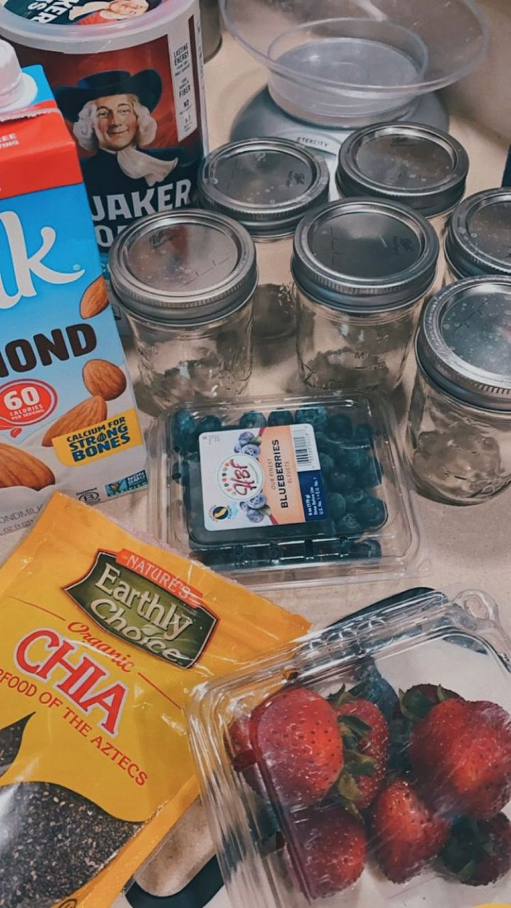 Weekly Meal Prep Routine(6/21-6/25)